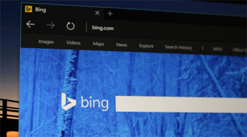 bing search and tuneIn