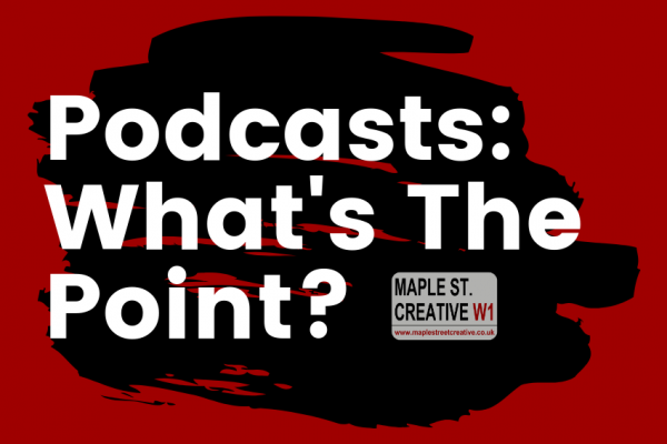 podcasts what's the point