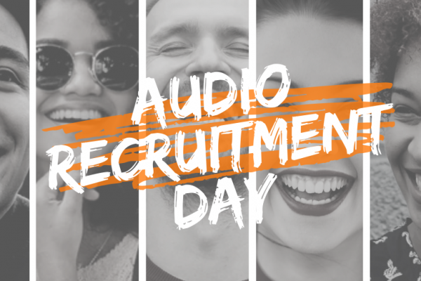 audio recruitment day 2019