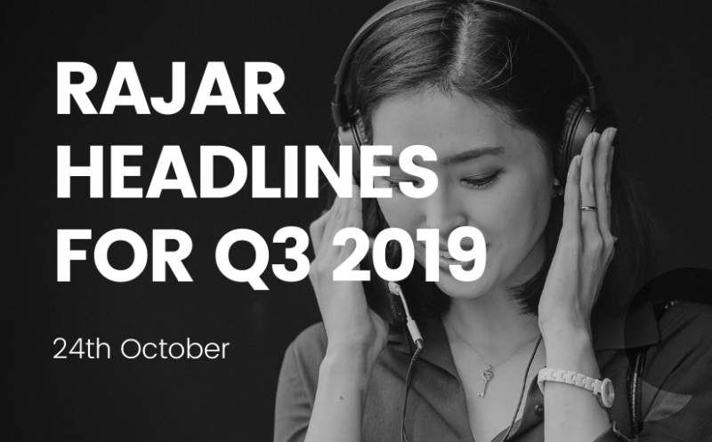 rajar q3 2019