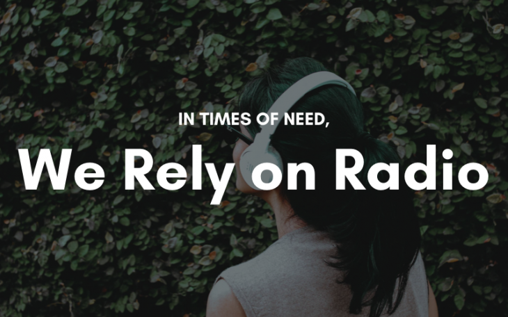rely on radio