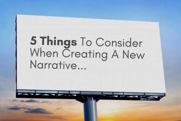 creating a narrative