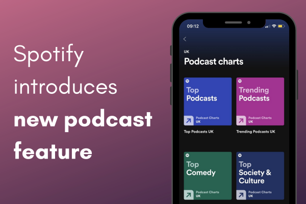 podcast discovery feature, spotify